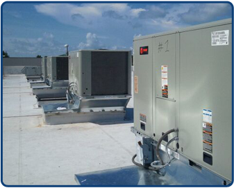 Roof Installed Air Conditioners